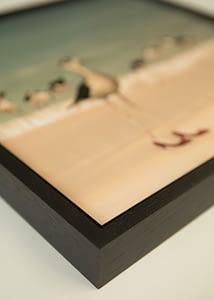 Wondrousgoose fine art print in floater frame
