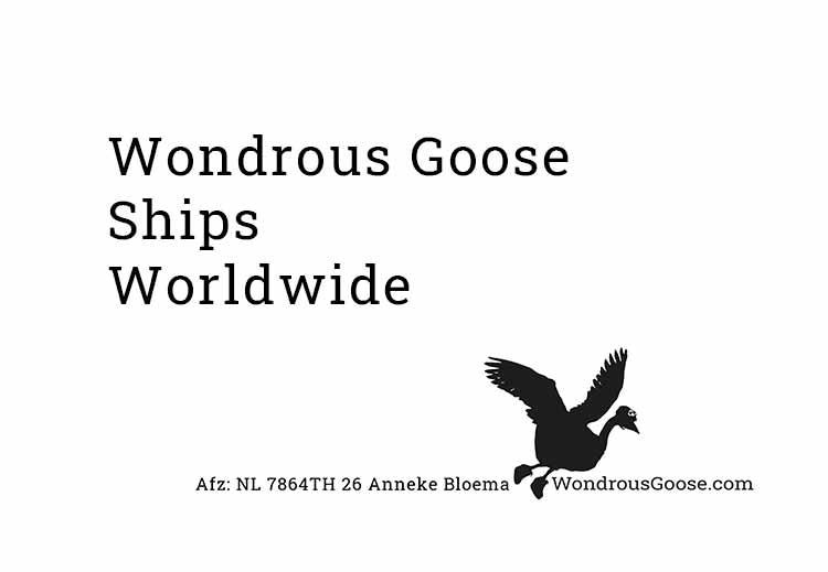 Wondrous goose Ships worldwide